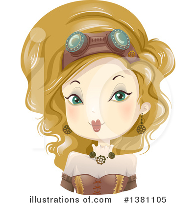 Woman Clipart #1381105 by BNP Design Studio