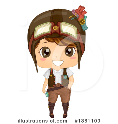 Steampunk Clipart #1381109 by BNP Design Studio