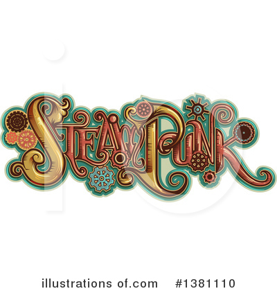 Steampunk Clipart #1381110 by BNP Design Studio
