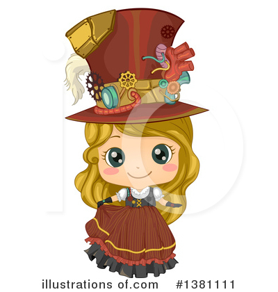 Steampunk Clipart #1381111 by BNP Design Studio