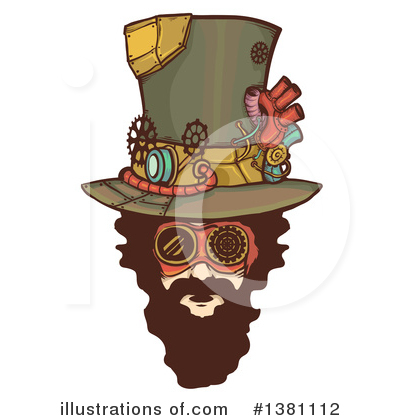Steampunk Clipart #1381112 by BNP Design Studio