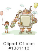 Royalty-Free (RF) Steampunk Clipart Illustration #1381113