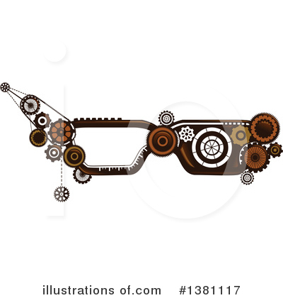 Steampunk Clipart #1381117 by BNP Design Studio
