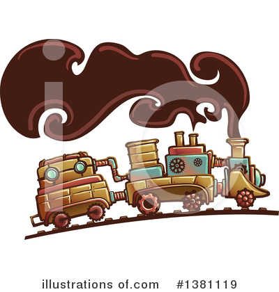 Steampunk Clipart #1381119 by BNP Design Studio