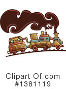 Royalty-Free (RF) Steampunk Clipart Illustration #1381119