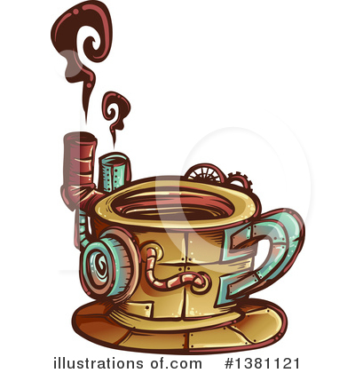 Steampunk Clipart #1381121 by BNP Design Studio