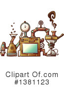 Steampunk Clipart #1381123 by BNP Design Studio