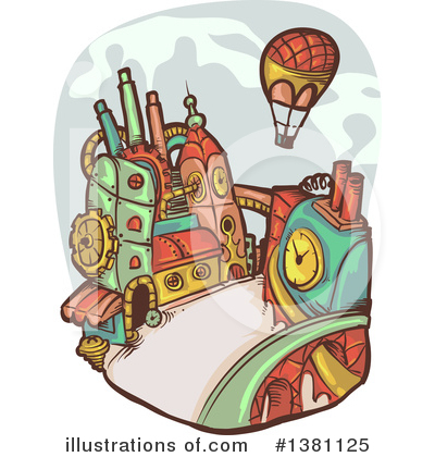 Transportation Clipart #1381125 by BNP Design Studio