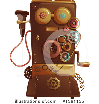 Steampunk Clipart #1381135 by BNP Design Studio