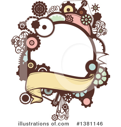 Steampunk Clipart #1381146 by BNP Design Studio