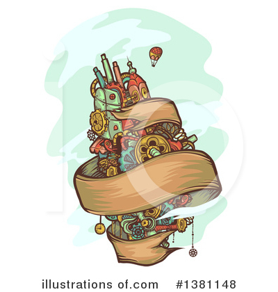 Steampunk Clipart #1381148 by BNP Design Studio