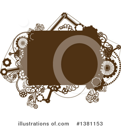 Steampunk Clipart #1381153 by BNP Design Studio