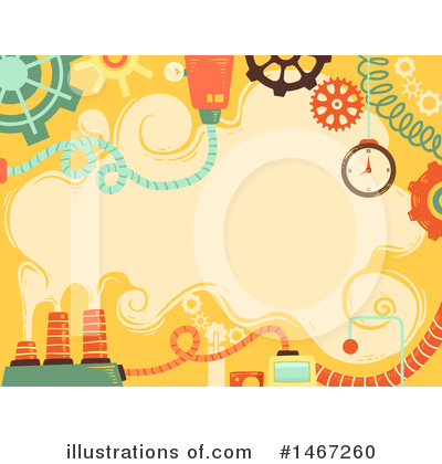 Royalty-Free (RF) Steampunk Clipart Illustration by BNP Design Studio - Stock Sample #1467260