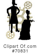 Royalty-Free (RF) steampunk Clipart Illustration #70831