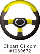 Steering Wheel Clipart #1069672 by michaeltravers