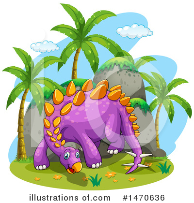 Stegosaurus Clipart #1470636 by Graphics RF