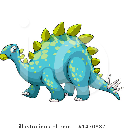 Stegosaurus Clipart #1470637 by Graphics RF