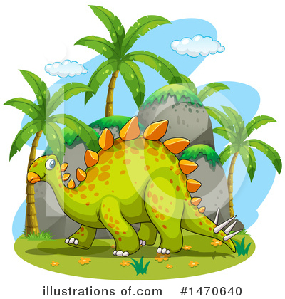 Stegosaurus Clipart #1470640 by Graphics RF