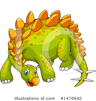 Stegosaurus Clipart #1470642 by Graphics RF