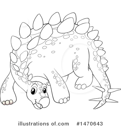 Stegosaurus Clipart #1470643 by Graphics RF