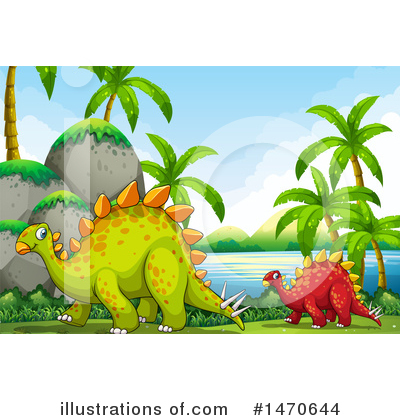 Stegosaurus Clipart #1470644 by Graphics RF