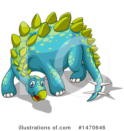Stegosaurus Clipart #1470646 by Graphics RF