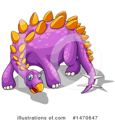Stegosaurus Clipart #1470647 by Graphics RF