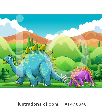 Stegosaurus Clipart #1470648 by Graphics RF