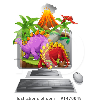 Volcano Clipart #1470649 by Graphics RF