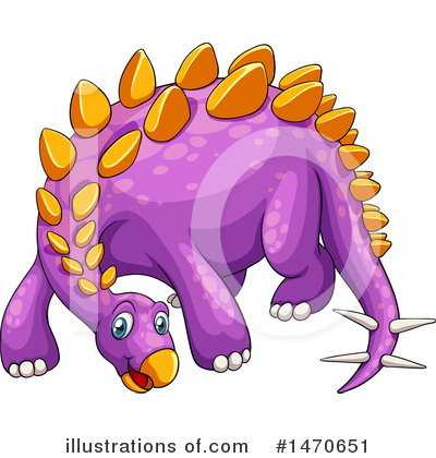 Stegosaurus Clipart #1470651 by Graphics RF