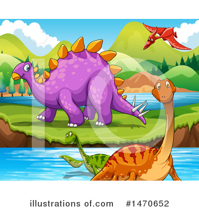 Brontosaurus Clipart #1470652 by Graphics RF