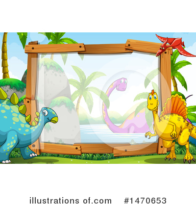 Brontosaurus Clipart #1470653 by Graphics RF