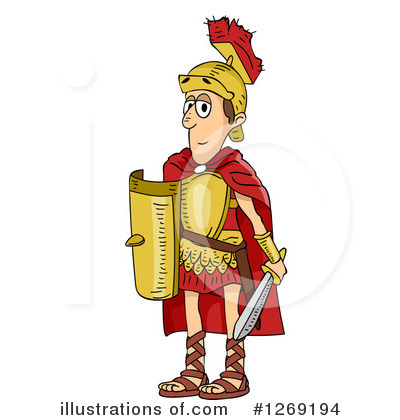 Roman Clipart #1269194 by BNP Design Studio