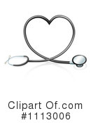Royalty-Free (RF) Stethoscope Clipart Illustration #1113006