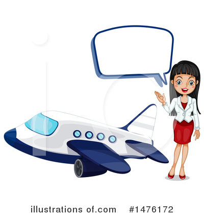 Stewardess Clipart #1476172 by Graphics RF