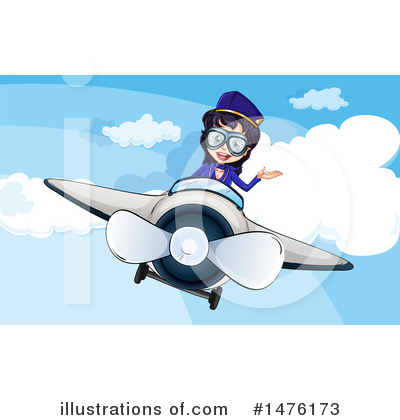 Stewardess Clipart #1476173 by Graphics RF