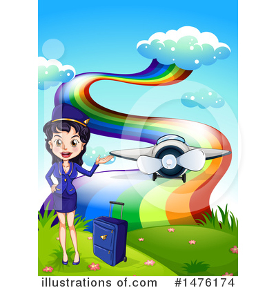 Plane Clipart #1476174 by Graphics RF