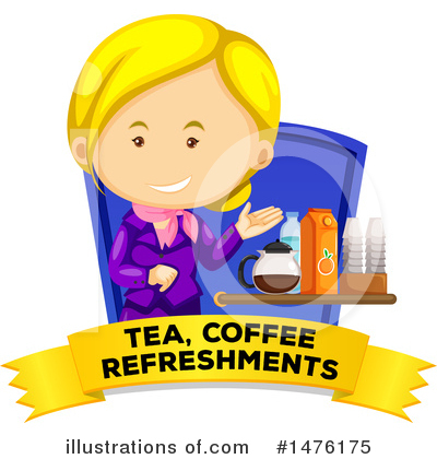 Stewardess Clipart #1476175 by Graphics RF