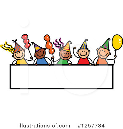 Royalty-Free (RF) Stick Children Clipart Illustration by Prawny - Stock Sample #1257734