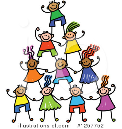 Stick Children Clipart #1257752 by Prawny