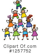 Stick Children Clipart #1257752