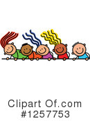 Stick Children Clipart #1257753