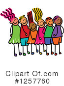 Stick Children Clipart #1257760