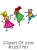 Stick Children Clipart #1257761