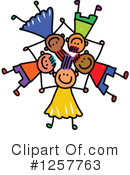 Stick Children Clipart #1257763