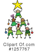 Stick Children Clipart #1257767