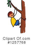 Stick Children Clipart #1257768