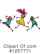 Stick Children Clipart #1257771