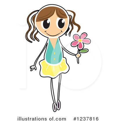 Flower Clipart #1237816 by Graphics RF