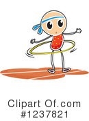 Stick Girl Clipart #1237821 by Graphics RF